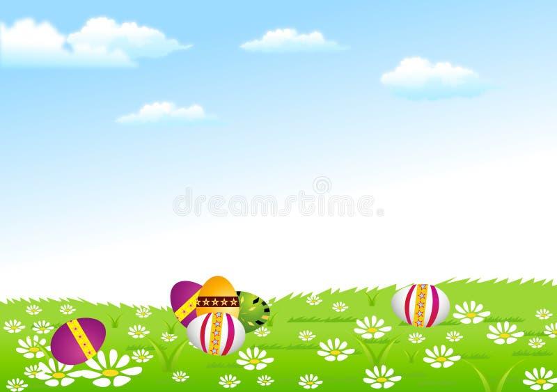 De Achtergrond van Pasen stock illustratie