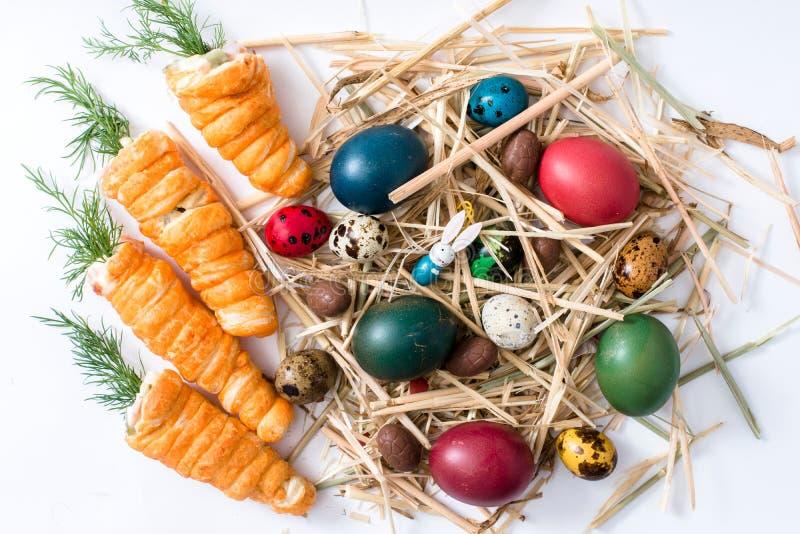De achtergrond van Pasen stock afbeelding