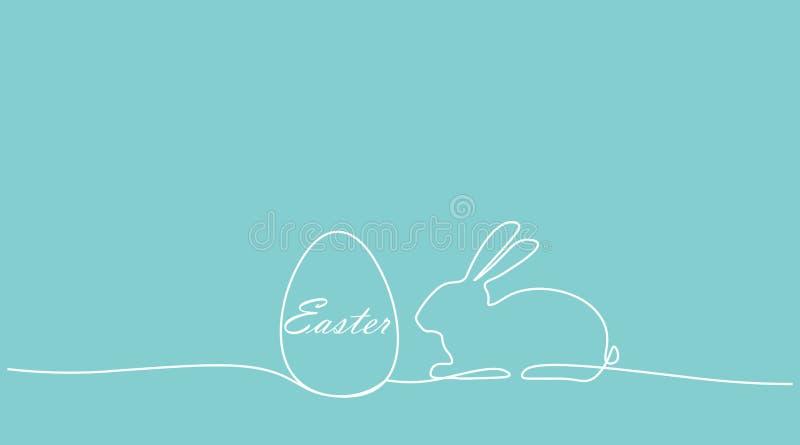 De achtergrond van Pasen, vectorillustratie royalty-vrije illustratie