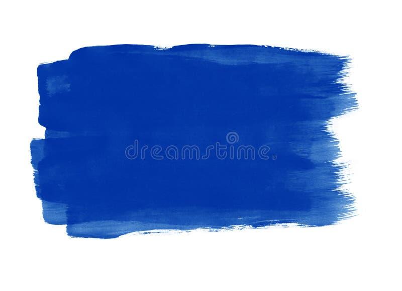 De achtergrond van penseelstreken vector illustratie