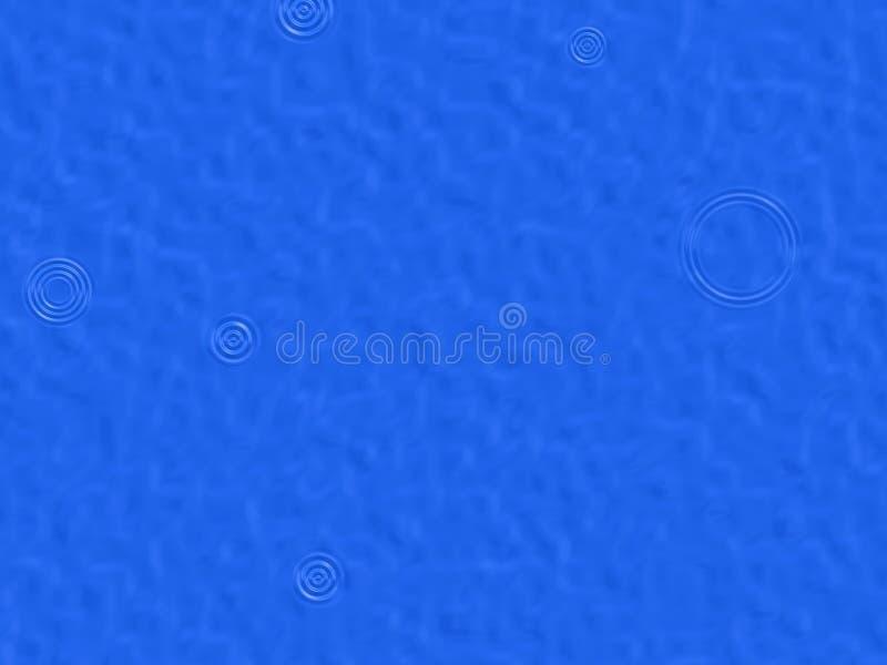 De achtergrond van regendruppels royalty-vrije illustratie