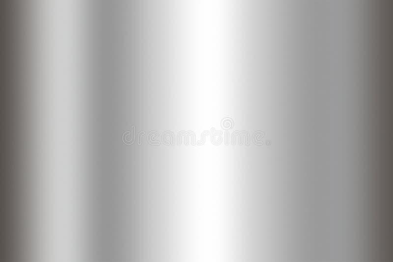 De achtergrond van de roestvrij staaltextuur Glanzende oppervlakte van metaalblad royalty-vrije stock foto's