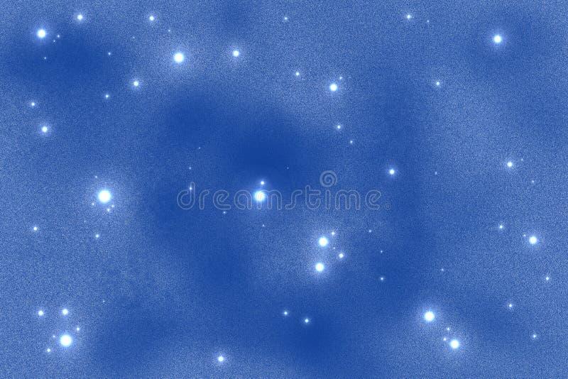 De achtergrond van Starfield stock illustratie