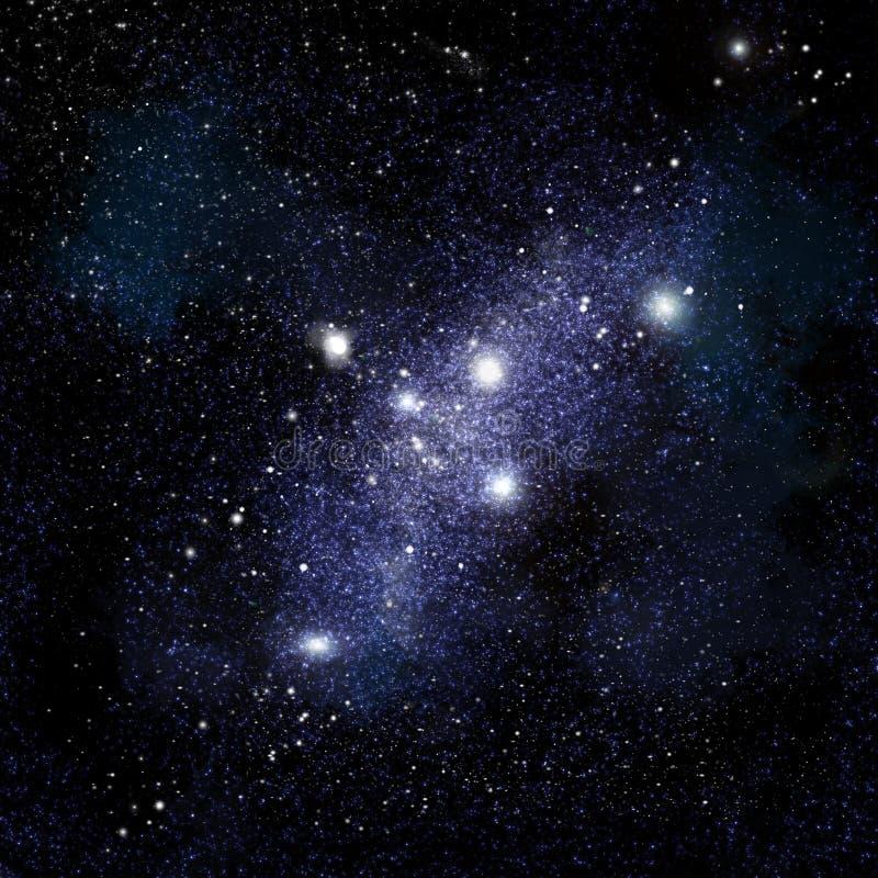 De Achtergrond van Starfield vector illustratie