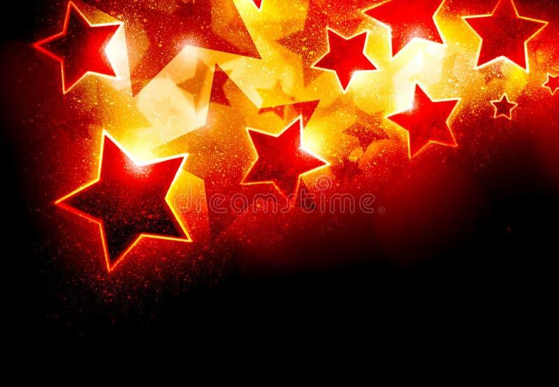 De achtergrond van sterren