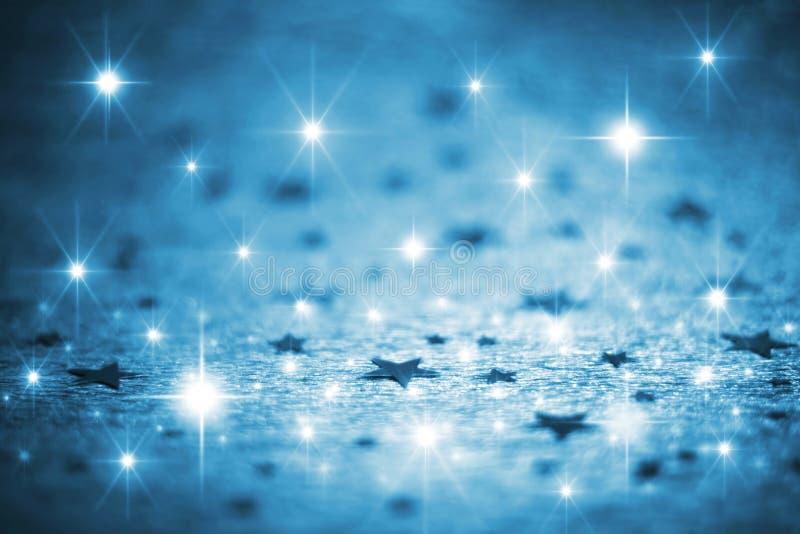 De achtergrond van sterren royalty-vrije stock afbeelding