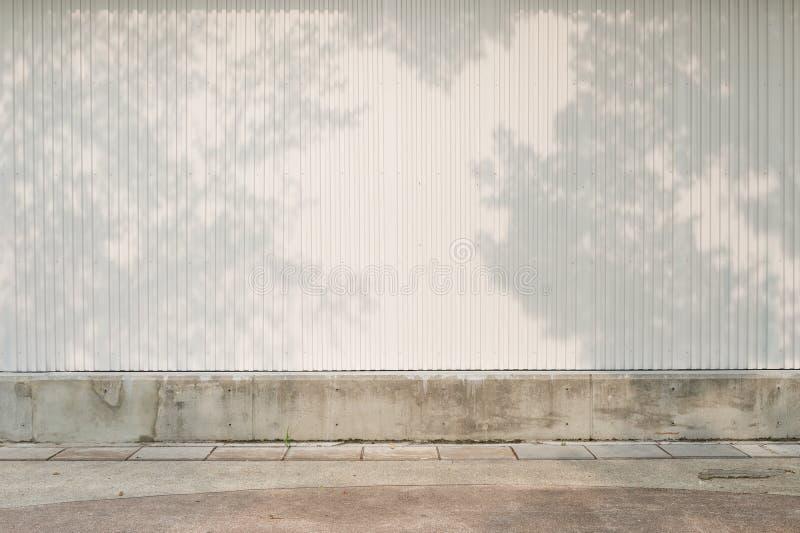De achtergrond van de straatmuur, Industriële achtergrond, lege grungeurba royalty-vrije stock foto
