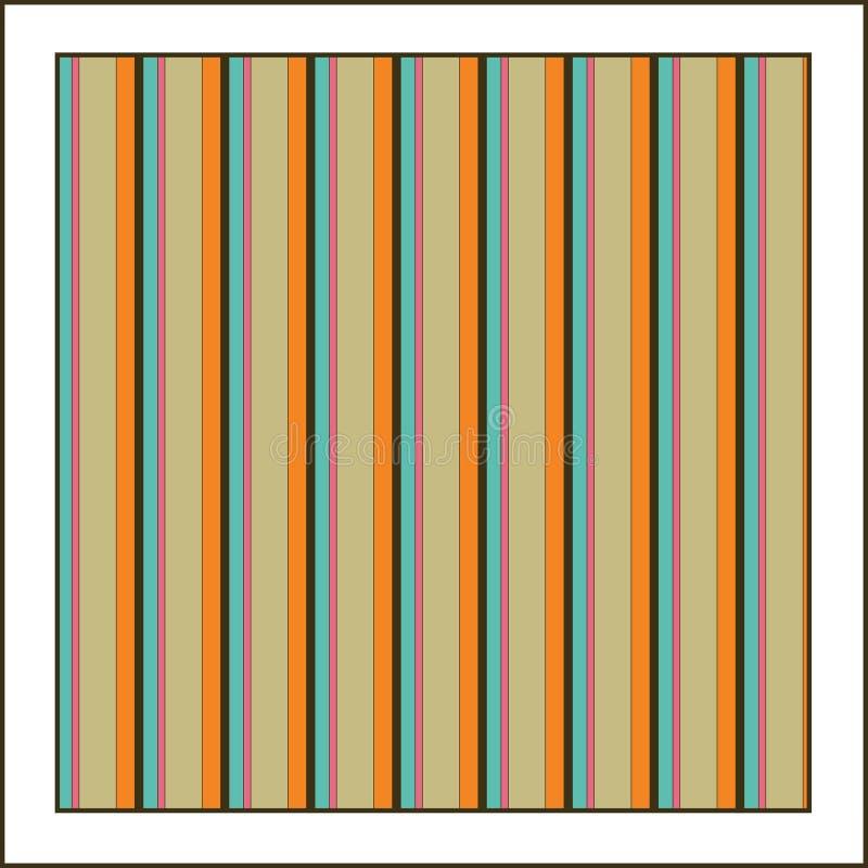 De achtergrond van Stripey vector illustratie
