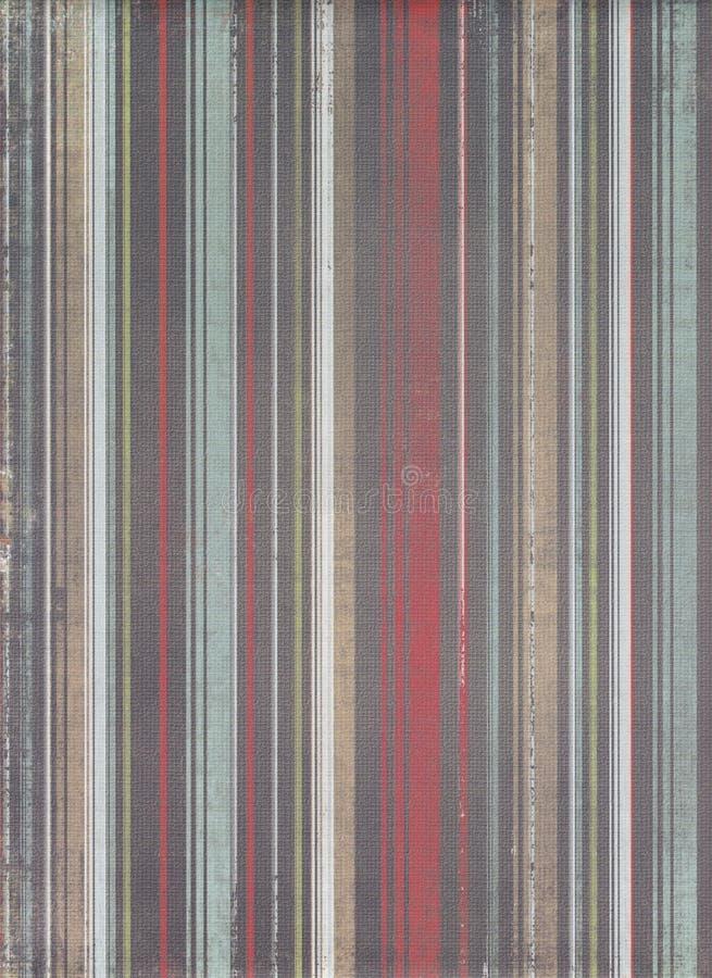 De achtergrond van Stripey grunge royalty-vrije illustratie