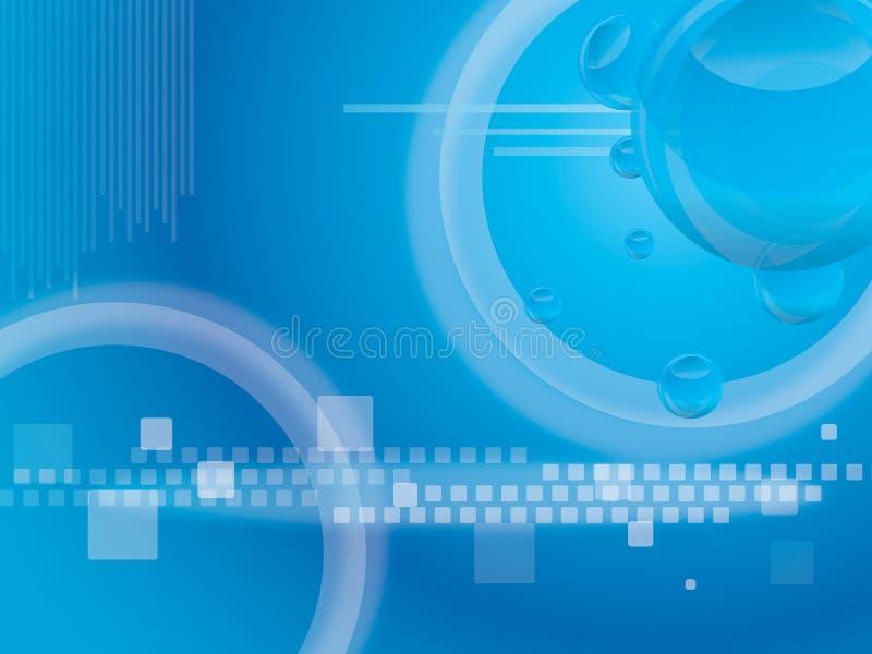 De achtergrond van technologie stock illustratie