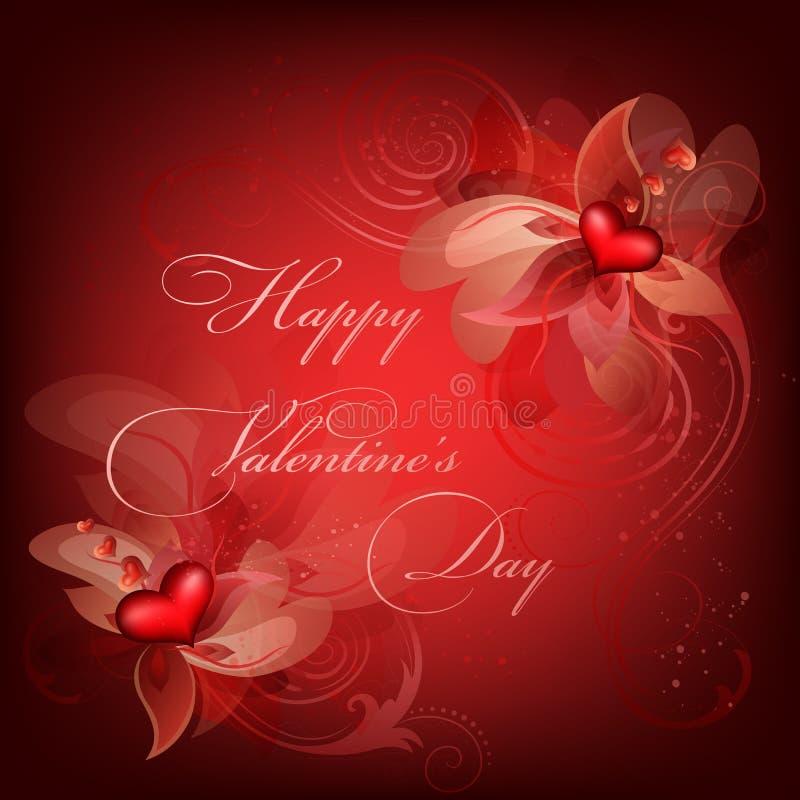 De Achtergrond van Valentine vector illustratie