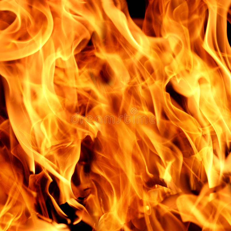 De achtergrond van vlammen stock afbeeldingen
