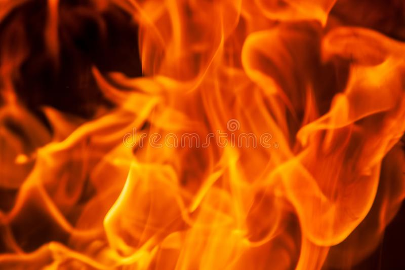 De achtergrond van de de vlamtextuur van de uitbarstingsbrand stock foto's