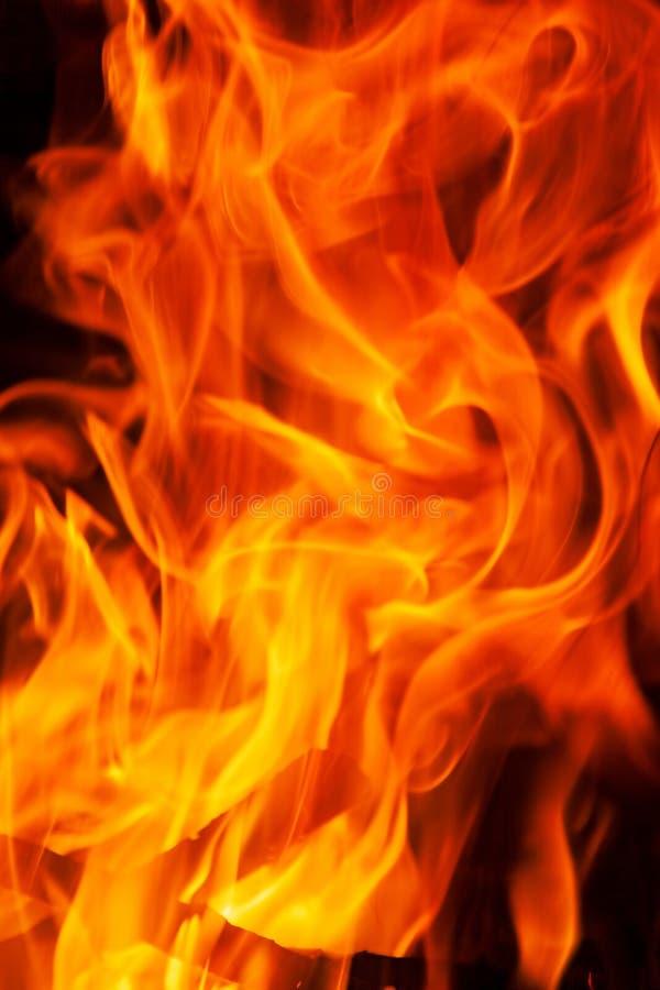 De achtergrond van de de vlamtextuur van de uitbarstingsbrand royalty-vrije stock foto's