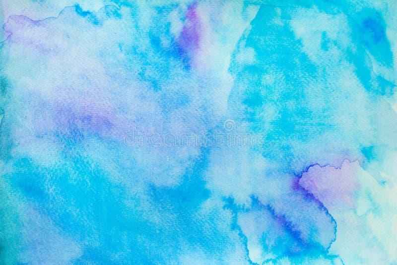 De achtergrond van de waterkleur stock illustratie