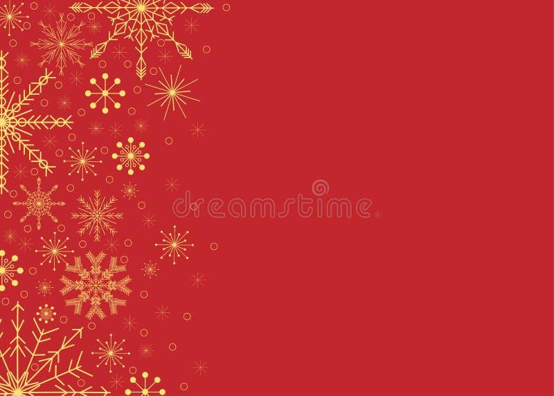 De achtergrond van de wijnoogst, van het Nieuwjaar en van Kerstmis stock illustratie