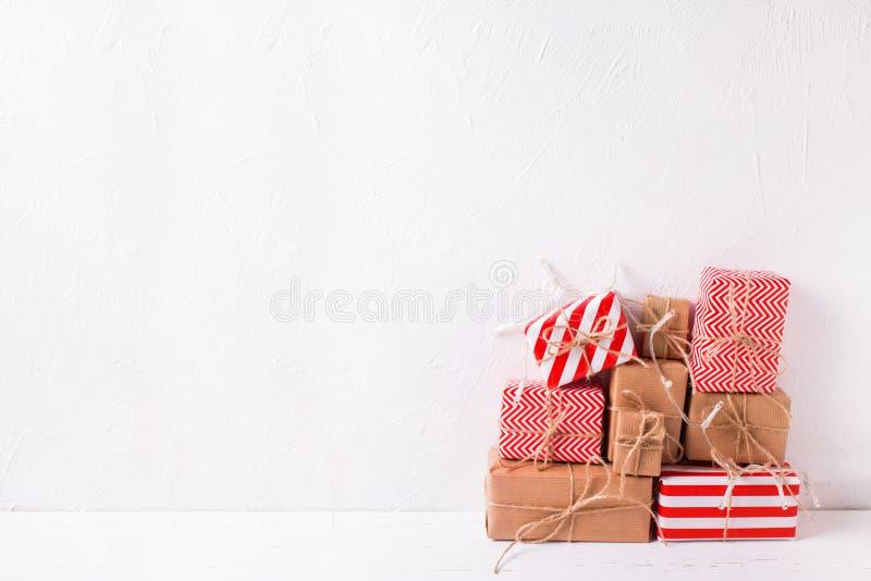 De achtergrond van de de wintervakantie stock foto