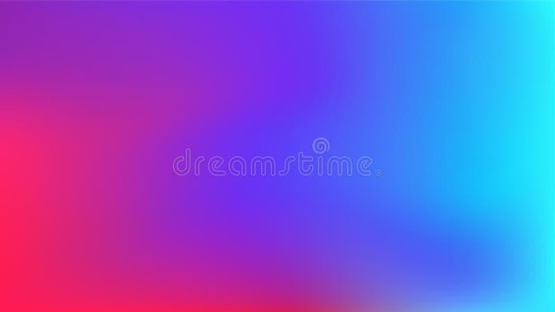 De achtergrond vectoreps van het gradiëntonduidelijke beeld stock illustratie