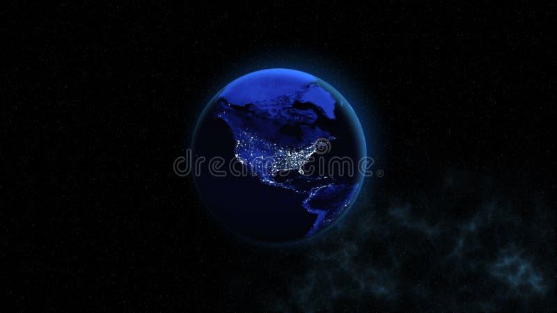 De achtergrond is volledig met sterren Dit die beeldelementen door NASA worden geleverd stock foto's