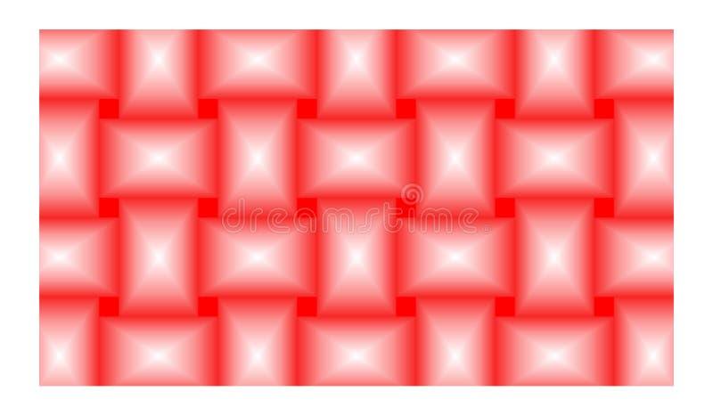 De achtergrond voor rechthoeken wordt gestalte gegeven als bakstenen, die uit eensgezind genestelde Rechthoeken, mooie kleuren en vector illustratie