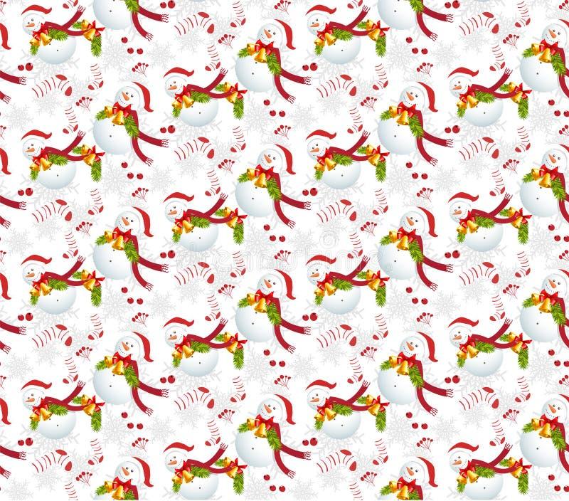 De achtergronden s van Kerstmispatronen vector illustratie