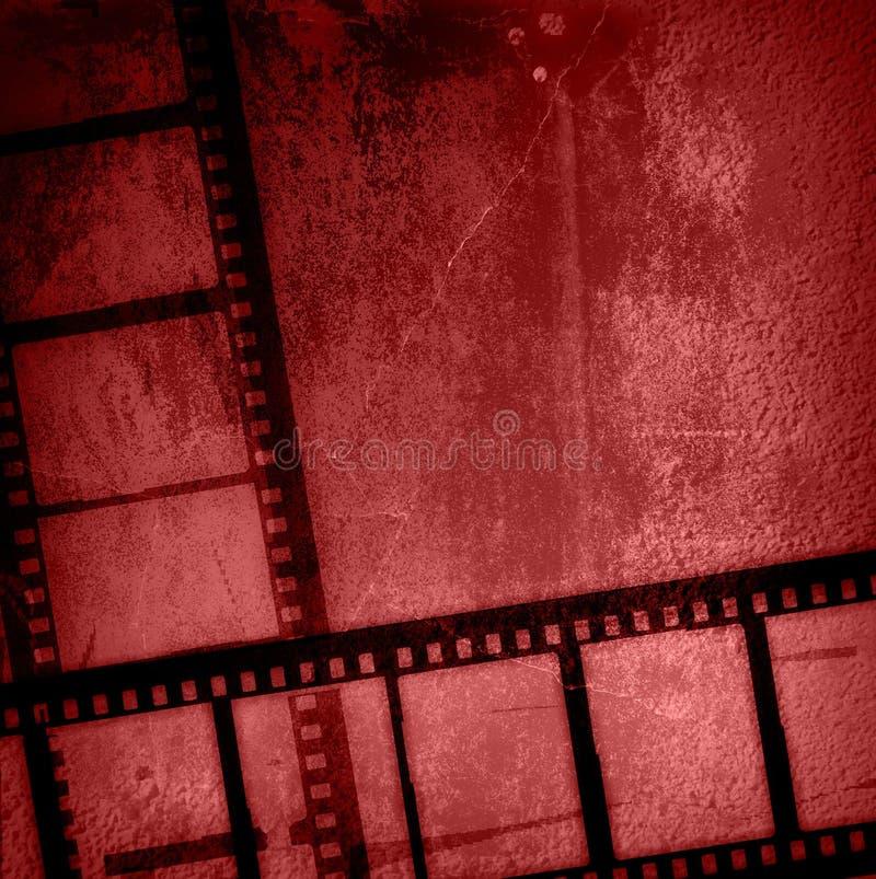 De achtergronden van de de filmstrook van Grunge vector illustratie