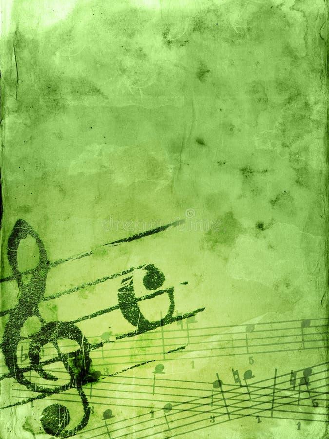 De achtergronden van de muziek grunge vector illustratie