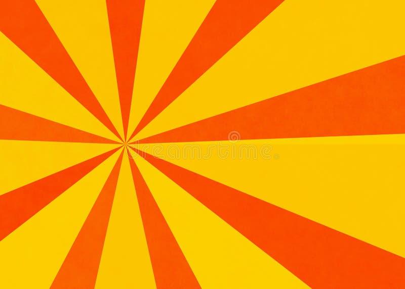 De achtergronden van de zonneschijntextuur vector illustratie