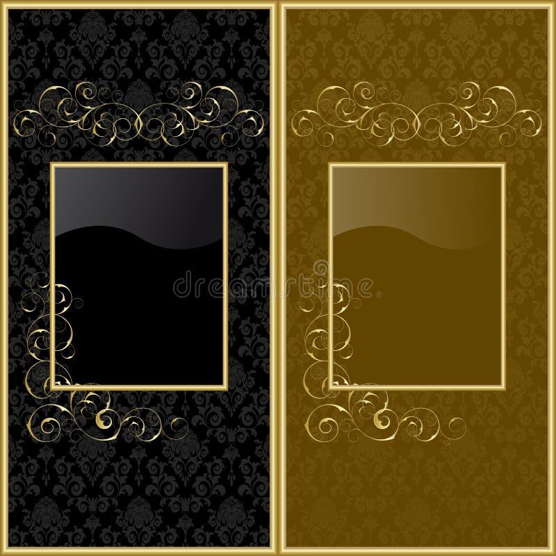 De achtergronden van het ontwerp stock illustratie