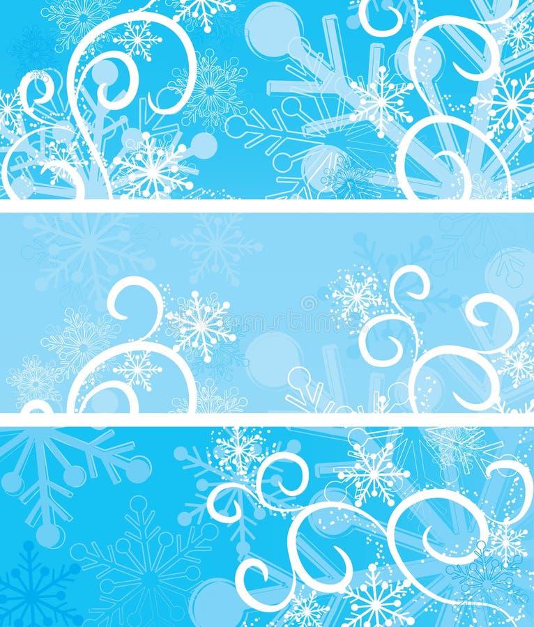 De achtergronden van Kerstmis, vector stock illustratie