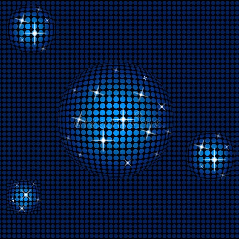 De achtergrondtechnologie toont Sterrige Achtergronden en Samenvatting royalty-vrije illustratie