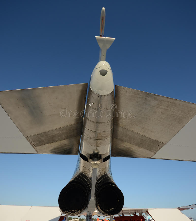 De achtermening van Jetfighter royalty-vrije stock afbeeldingen