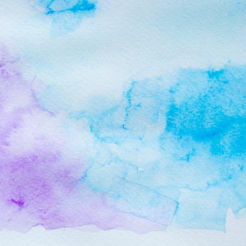 De acrylachtergrond van de waterkleur royalty-vrije stock afbeelding