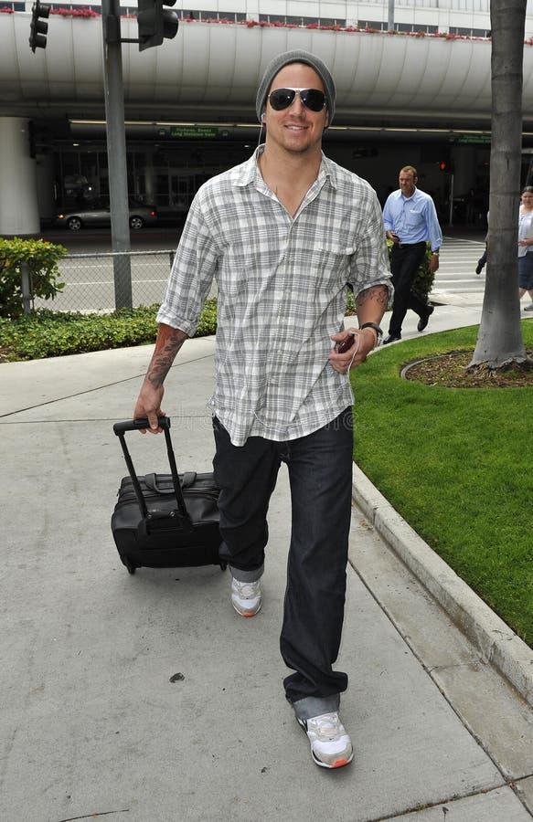 De acteur Channing Tatum wordt gezien bij LOS stock foto