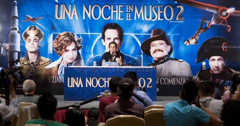 De Acteur Stillere Ben van MEXICO-CITY stock foto's
