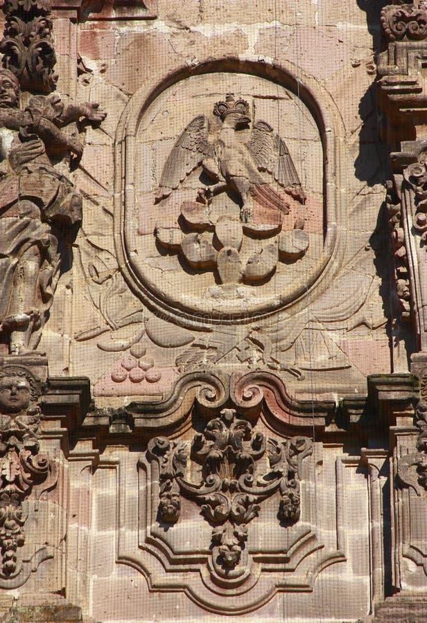 De adelaar van Iturbide stock foto