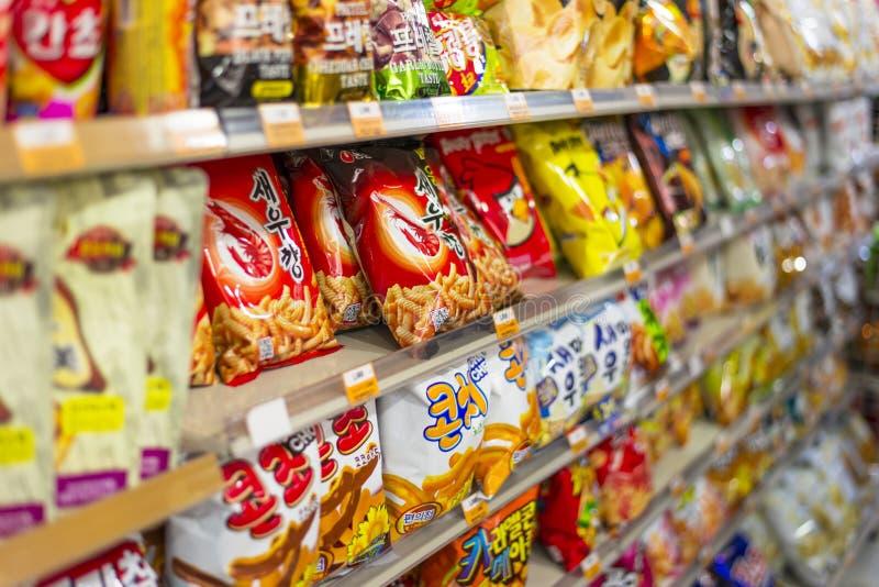 De Afdeling van de snack royalty-vrije stock afbeelding