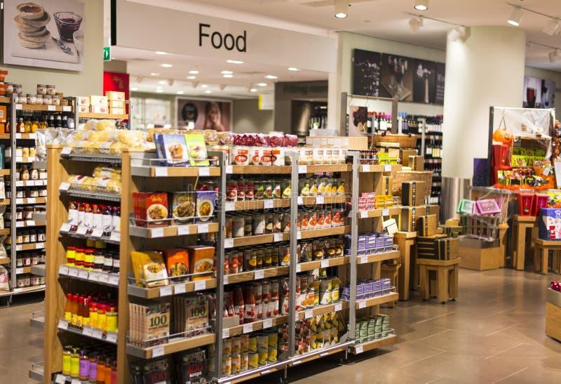 De Afdeling van het voedsel royalty-vrije stock fotografie