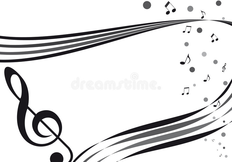 De afeiçoado musique imagens de stock royalty free