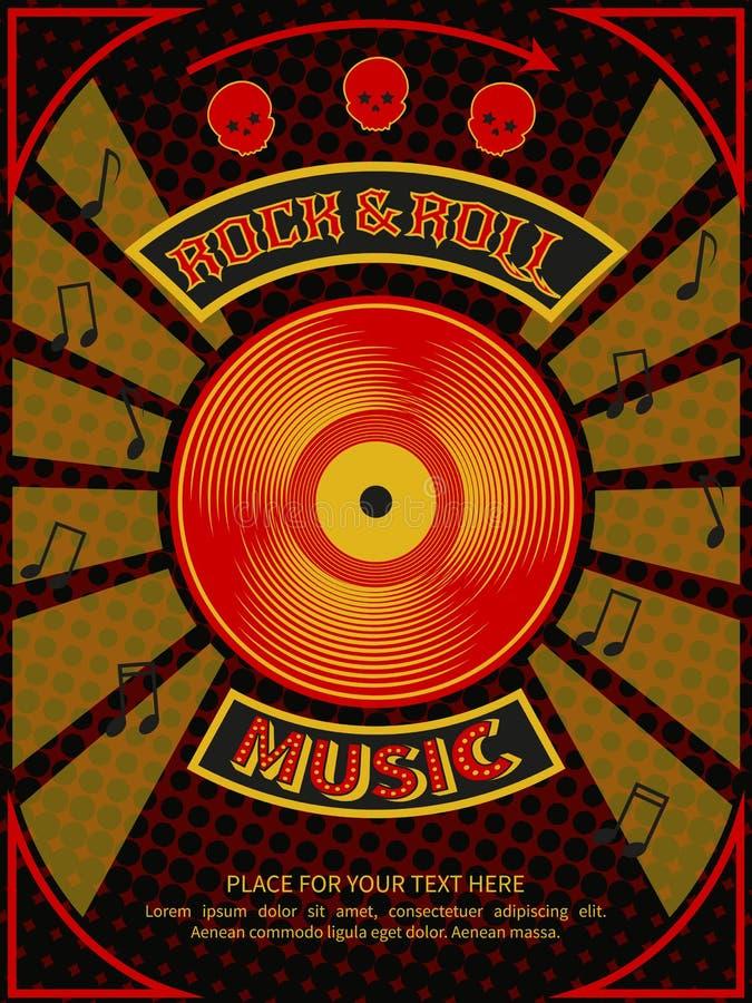 De affiche van de discopartij vector illustratie