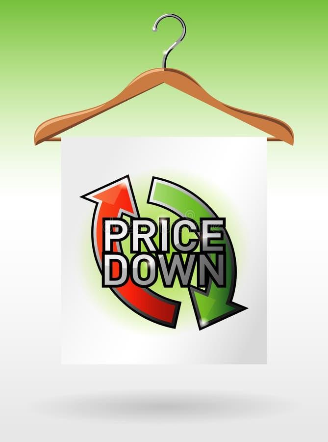 De affiche van de verkoop vector illustratie