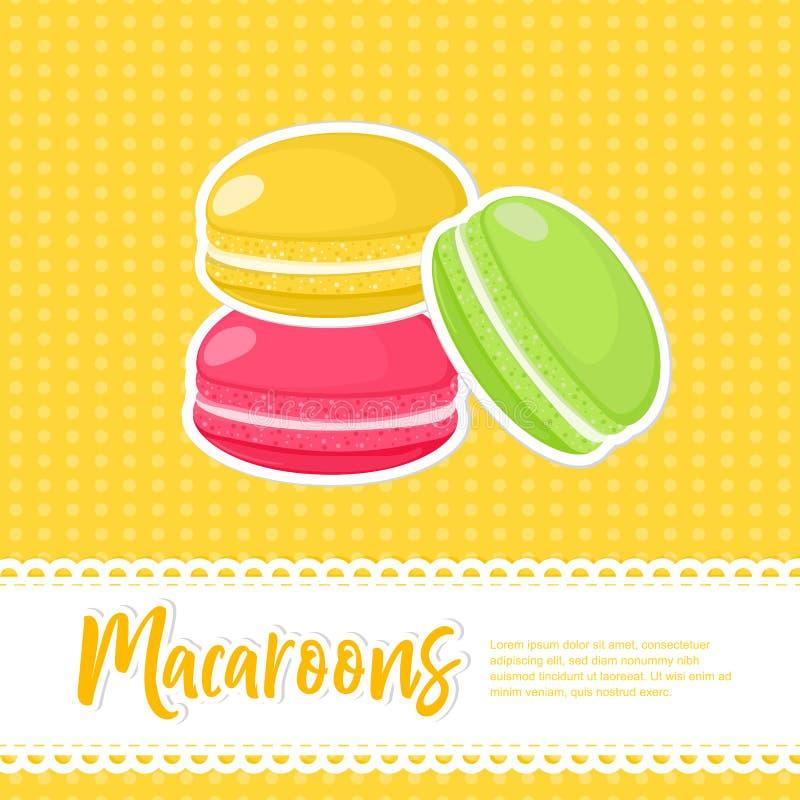 De affiche van het voedselconcept vector illustratie