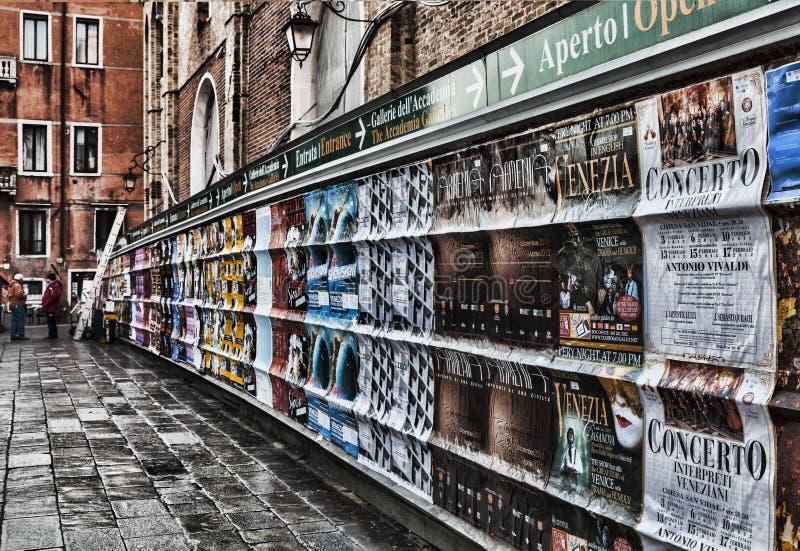 De affiches van Venetië