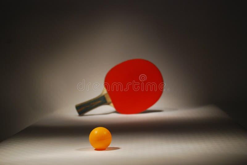 De afstand van de pingpong royalty-vrije stock afbeelding