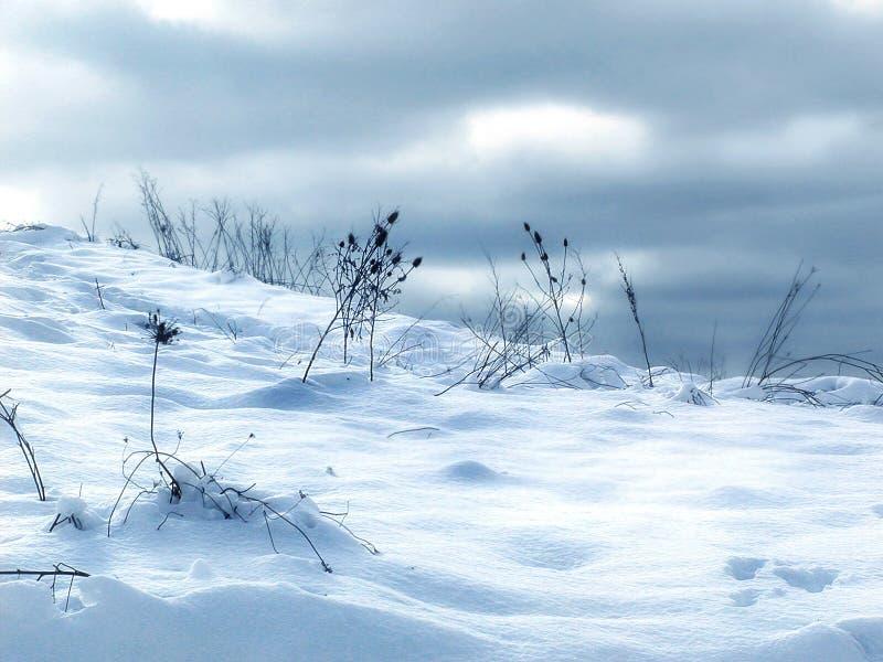 De Afwijkingen van de sneeuw royalty-vrije stock afbeelding