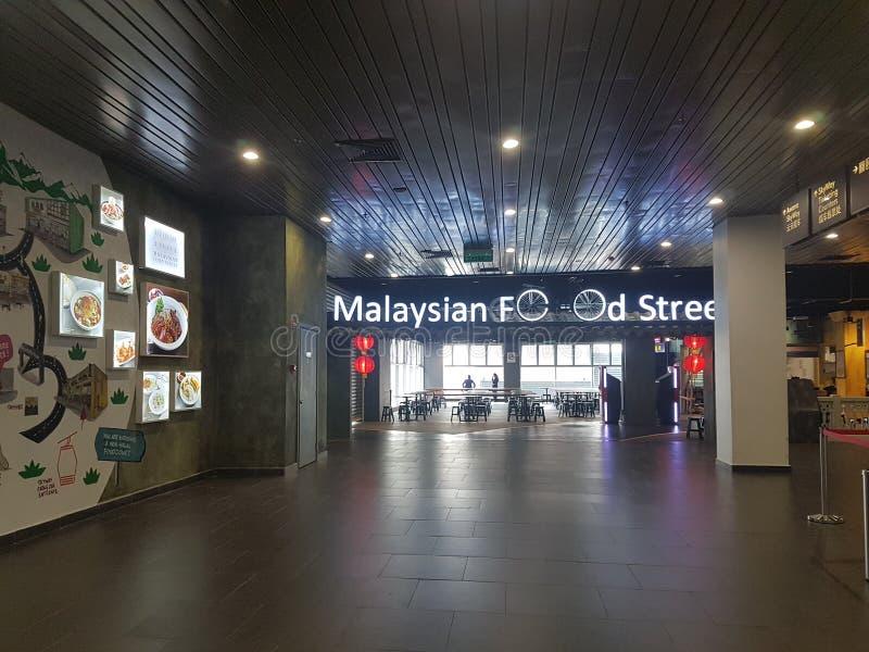 7 de Afzet van de het Hooglandpremie van Genting van januari 2018, Kuala Lumpur De afzet van premief& B was de nieuwe aantrekkeli stock foto