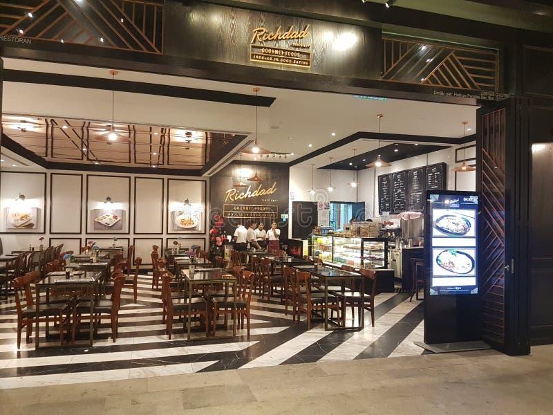 7 de Afzet van de het Hooglandpremie van Genting van januari 2018, Kuala Lumpur De afzet van premief& B was de nieuwe aantrekkeli royalty-vrije stock fotografie