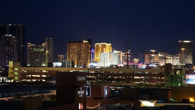 De Afzet van Las Vegas, van Nevada Strip en van de Premie royalty-vrije stock afbeelding