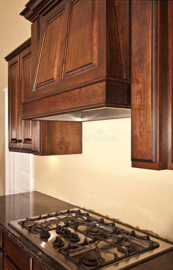 De Afzuigkap van keukenkasten royalty-vrije stock foto