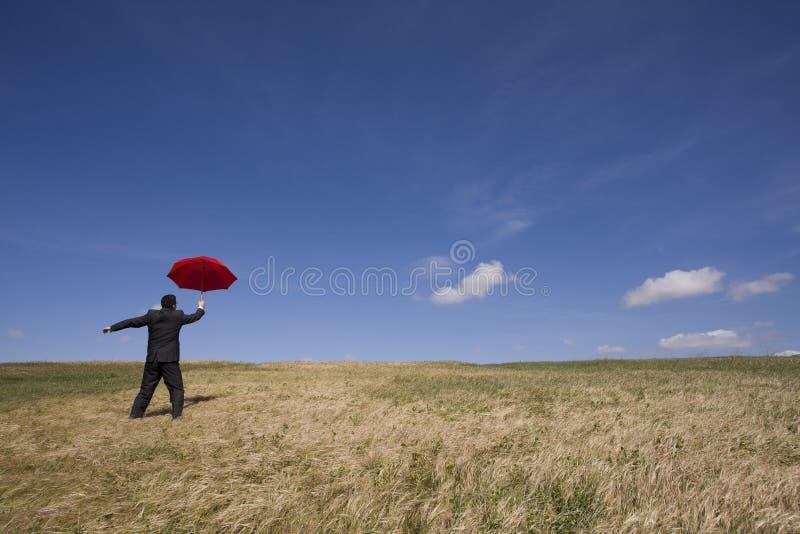De agent van de verzekering stock fotografie